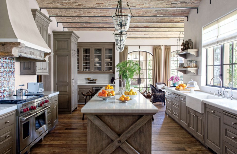 best rustic kitchen